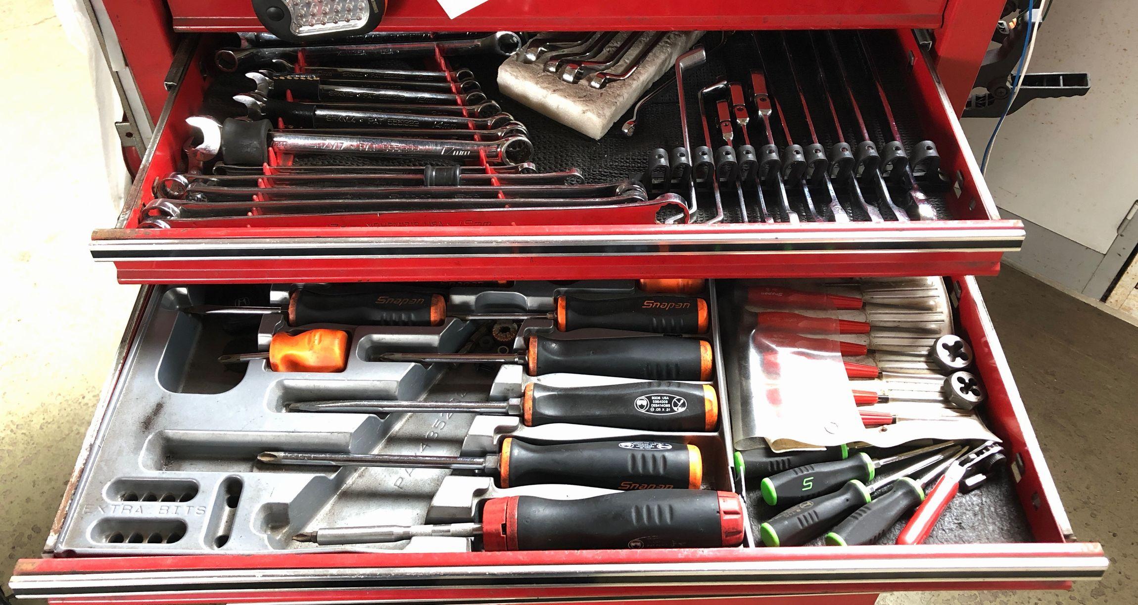 整備士 工具箱