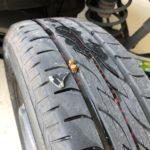 タイヤ整備 パンク修理