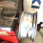 タイヤ整備 ホイルバランス調整 ホイール単品でも計る
