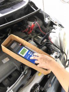 電気整備 バッテリー