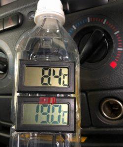 エアコン整備 温度計
